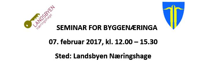 seminar for byggenæringa