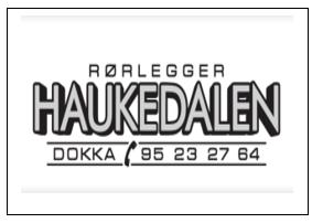 Rørlegger Haukedalen