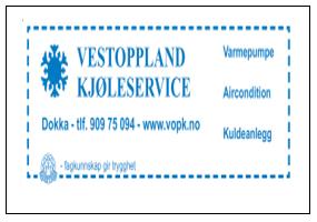 Vestoppland Kjøleservice