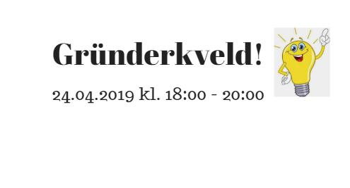 Gründerkveld i Næringshagen 24 april 2019