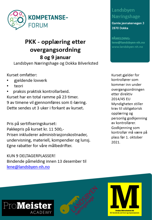 PKK-kurs januar 2020